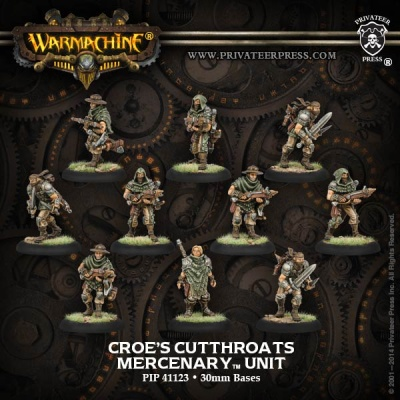 Mercenary Croe's Cutthroats Unit Box (10)