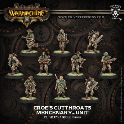 Mercenary Croe's Cutthroats Unit Box (10)