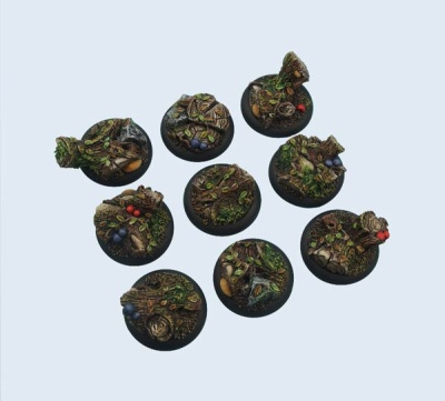 Forest Bases WRound 30mm (5)