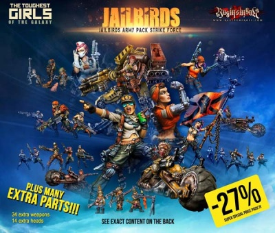 Jailbirds Army Pack Strike Force (JB)