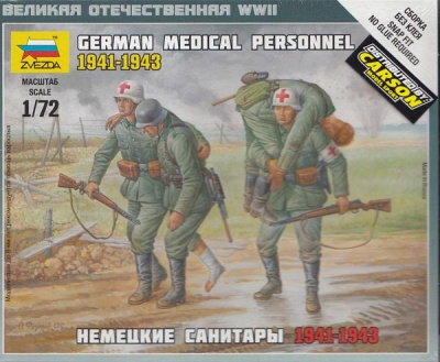 1:72 German Medical Personnel