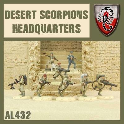 Desert Scorpion HQ