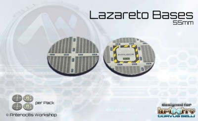 Lazareto Bases - 55mm round (4)