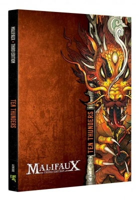 Malifaux (M3E): Ten Thunders Faction Book