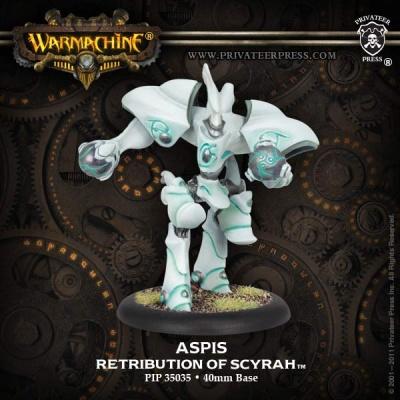 Retribution of Scyrah Aspis Light Warjack
