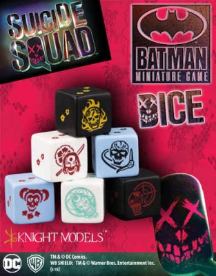 Suicide Squad Dice Set