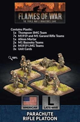 Parachute Rifle Platoon (Plastic)