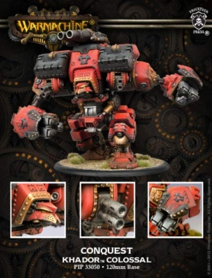 Khador Conquest Colossal Box (plastic) OOP
