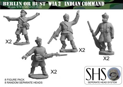 Command (8 figures) Separate Heads