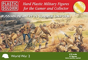 1/72: Russian Infantry in Summer Uniform (57)