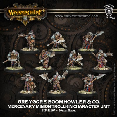 Mercenary Boomhowler & Co Unit (10) Box (repack)