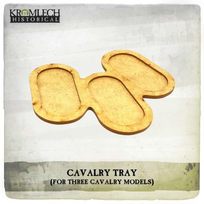 Cavalry Tray (for 3 cavalry models) (3)