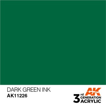 Dark Green INK 17ml