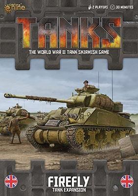 British Sherman V /  Firefly - TANKS Erweiterungspack deutsc