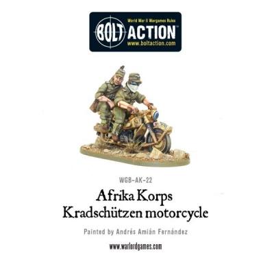 Afrika Korps Kradschützen Motorcycle