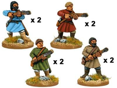 Psiloi with Crossbows (8 figs)