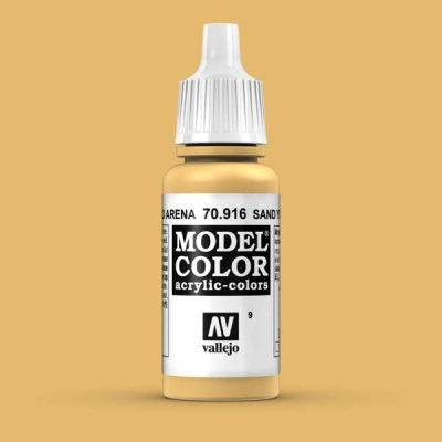 Model Color 009 Sandgelb (Sand Yellow) (916)