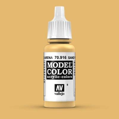 Model Color 009 Sandgelb (Sand Yellow) (916)