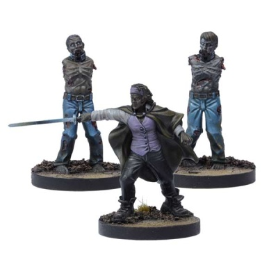 The Walking Dead:  Michonne Booster