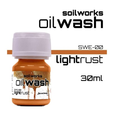 Oil Wash: Light Rust
