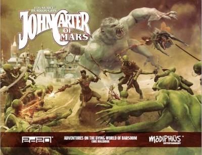 John Carter of Mars: Core Rulebook