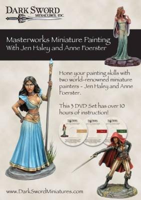 Dark SwordMiniatures - Masterworks Miniature Painting 3DVD