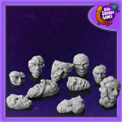 Stone Faces Basing Kit