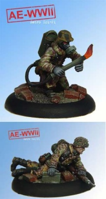 German Wehrmacht Flamenwerfer Team (2)