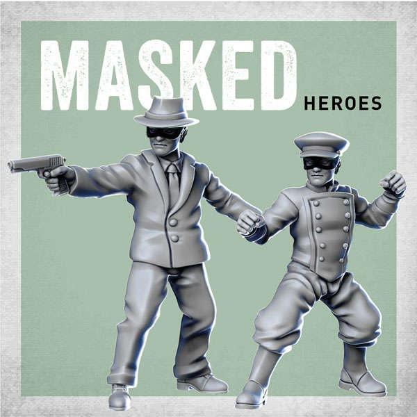 Masked Heroes (2)