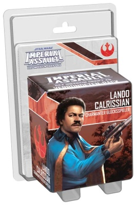 SW: Imperial Assault Lando Calrissian Charmanter Glritter