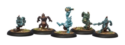 Trollblood Troll Whelps Solos (5 Models)