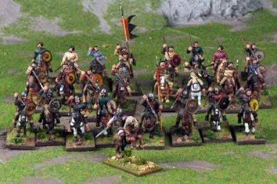 SAGA - Strathclyde Welsh Warband (25)