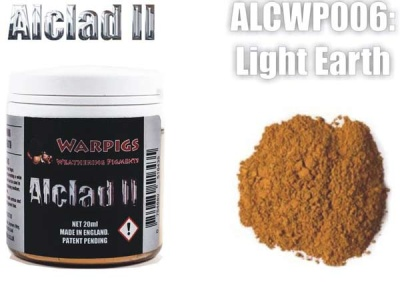 Alclad II PIGMENT: Light Earth