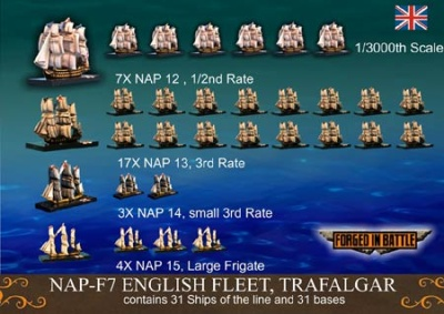 British Fleet (1/3000 Schiffe)