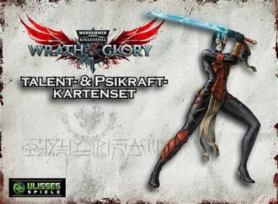 WH40K Wrath & Glory - Talente und Psikräfte Kartenset