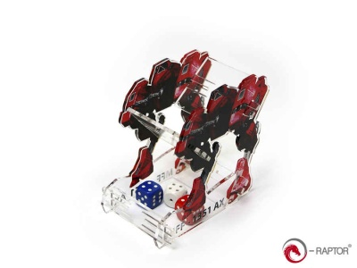 Dice Tower - MFF Mech (Red)