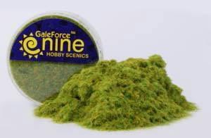Hobby Round: Statisches Gras (helles Grün)