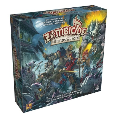 Zombicide: Green Horde - Friends and Foes  Erweiterung DE