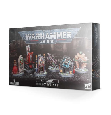 WH40K Battlezone: Manufactorum Objective Set