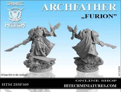 28mm ArchFather Furion