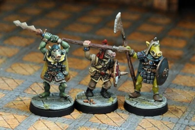 Pig-Faced Orc Warriors II (3)