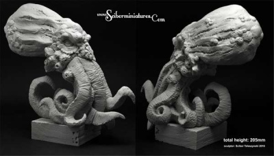 Cthulhu Bust height 205mm