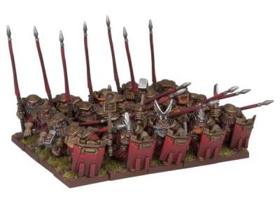 Dwarf Bulwarkers Regiment (20)