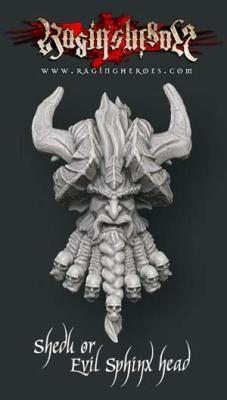 Shedu / Evil Sphinx head
