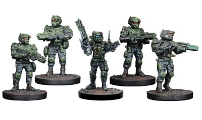 GCPS Ranger Sniper/ Tank Hunter Team (5)