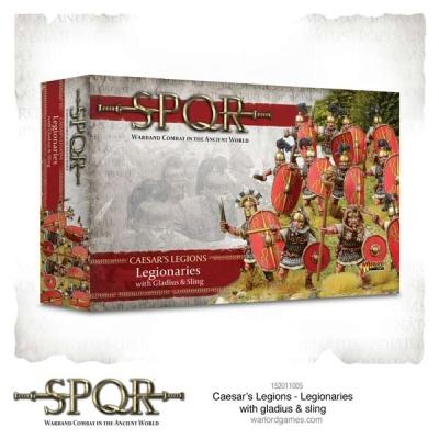 SPQR: Caesar's Legions - Legionaries with gladius & sling