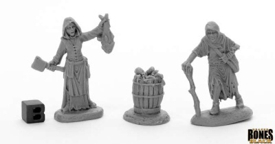 Dreadmere Townsfolk: Fishwife & Crone (2)