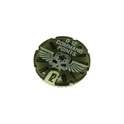 Command Point Dial #0-12 Compatible with WH:KT