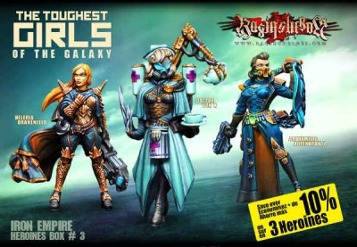 Character Box Iron Empire 3 (IE)