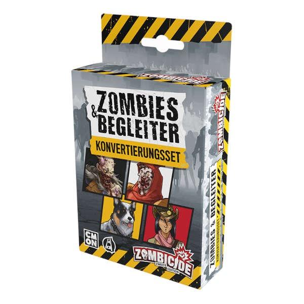 Zombicide 2. Ed - Zombies & Begleiter - Konvertierungsset DE
